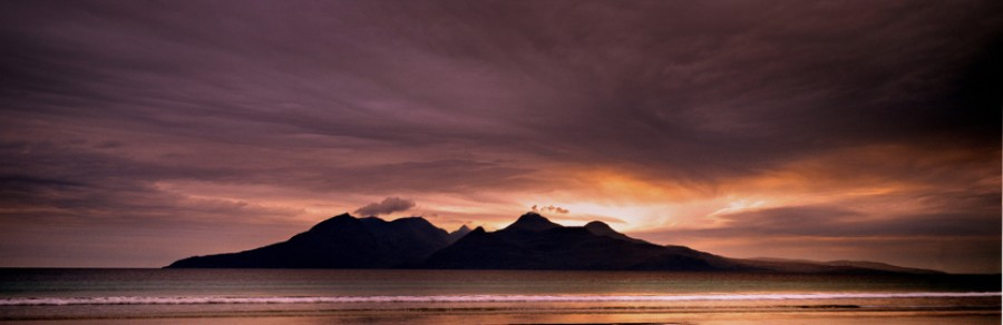 Isle-of-rum-from-laig-bay, Graham Macfarlane
