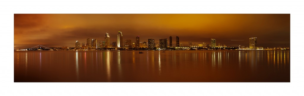 San Diego Panorama NIghtscape