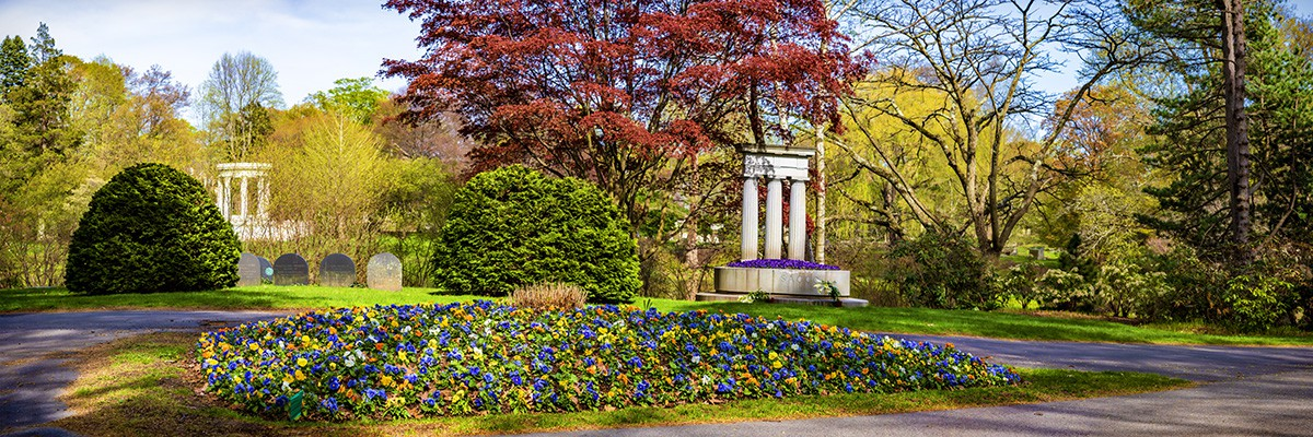 Boston, MA, Mt Auburn Cemetery